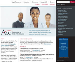 Association of Corporate Council Homepage