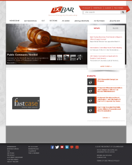 The District of Columbia Bar Homepage
