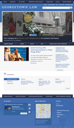 Georgetown Law Home Page