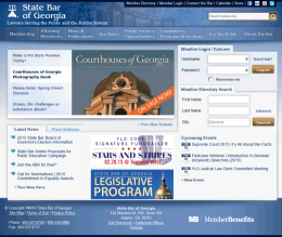 State Bar of Georgia Homepage
